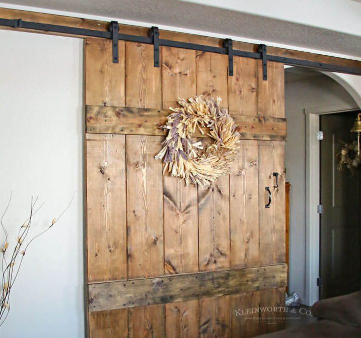 Wide Rustic Barn Door