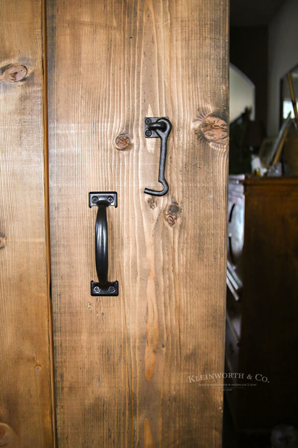 Wide Rustic Barn Door