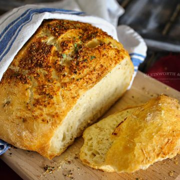 Crusty Italian Parmesan Bread