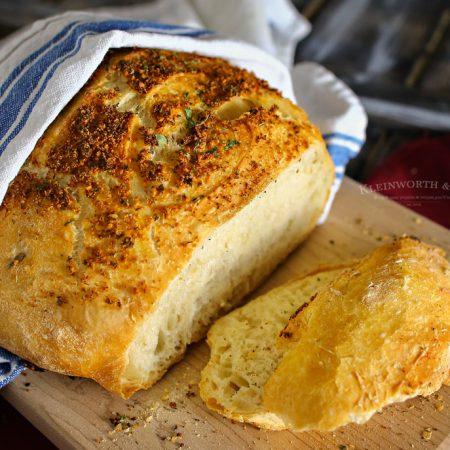 Crusty Italian Parmesan Bread