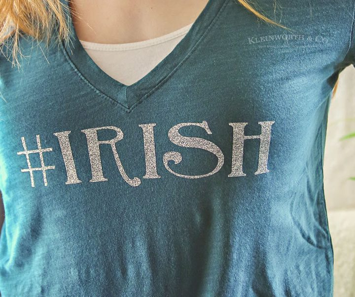 Hashtag Irish St. Patrick's Day Shirt