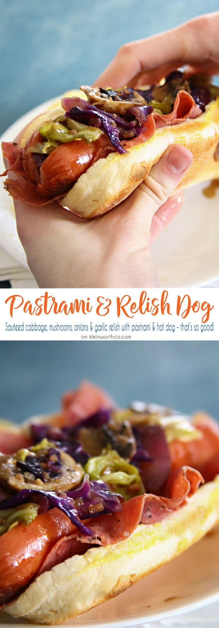 Pastrami & Relish Dog