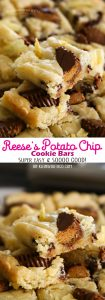 Reese's Potato Chip Cookie Bars
