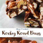 Slow Cooker Rocky Road Bars