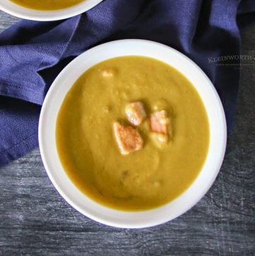 Easy Slow Cooker Split Pea Soup