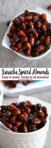 Sriracha Spice Almonds