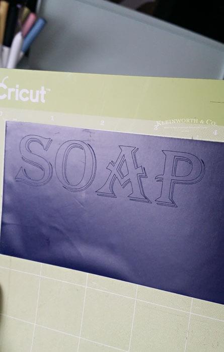 Vintage Soap Canister Cricut Tutorial Kleinworth Amp Co