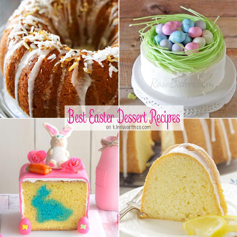 Best Easter Dessert Recipes