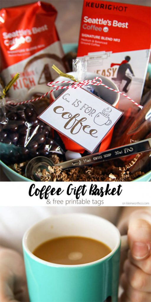 Coffee Gift Basket Idea