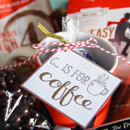 Coffee Gift Basket Idea