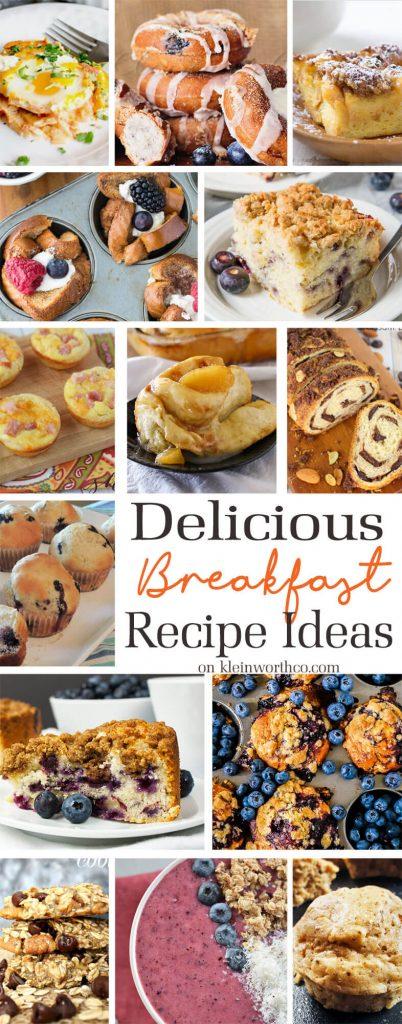 Delicious Breakfast Recipe Ideas