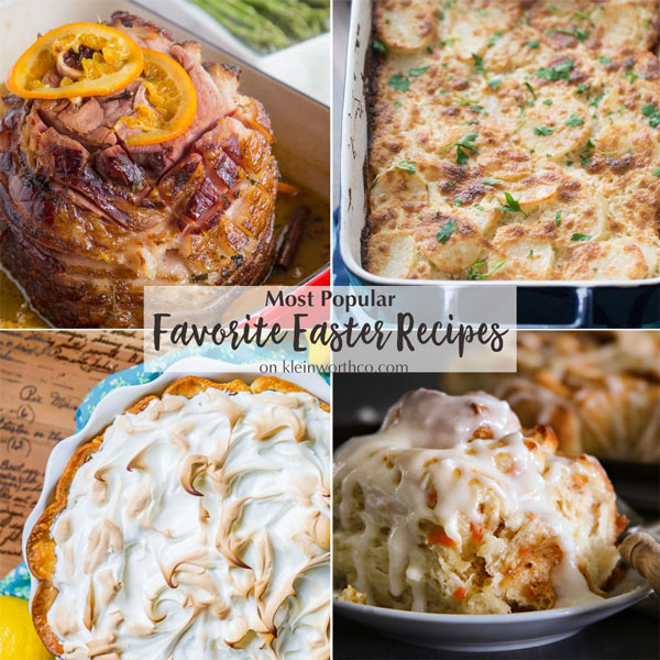 Most Popular Favorite Easter Recipes