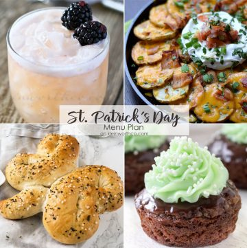 Best St. Patrick's Day Menu Plan