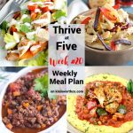 Thrive at Five Meal Plan Week 20