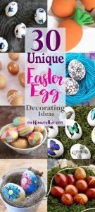 30 Unique Easter Egg Decorating Ideas