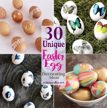 30 Unique Easter Egg Decorating Ideas
