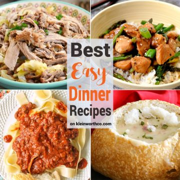 Best Easy Dinner Recipes