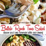 Buffalo Ranch Tuna Salad