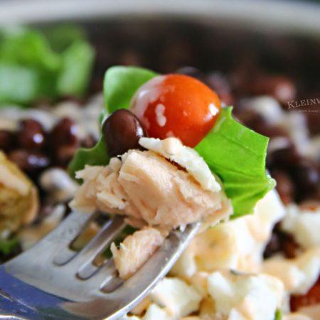 Buffalo Ranch Tuna Salad