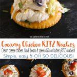 Creamy Chicken RITZ Nachos