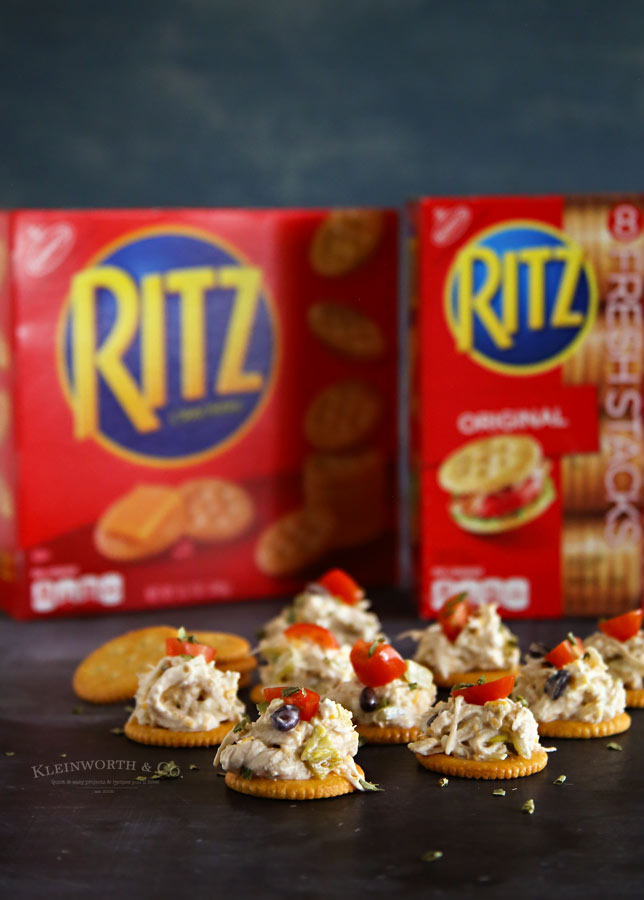 Creamy Chicken RITZ Nachos