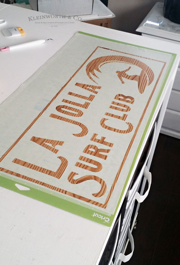 Can I Upload My Own Images to Cricut? Surfer Sign Craft Tutorial