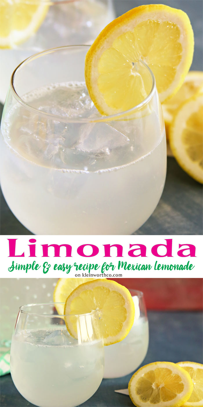 Limonada Mexican Lemonade