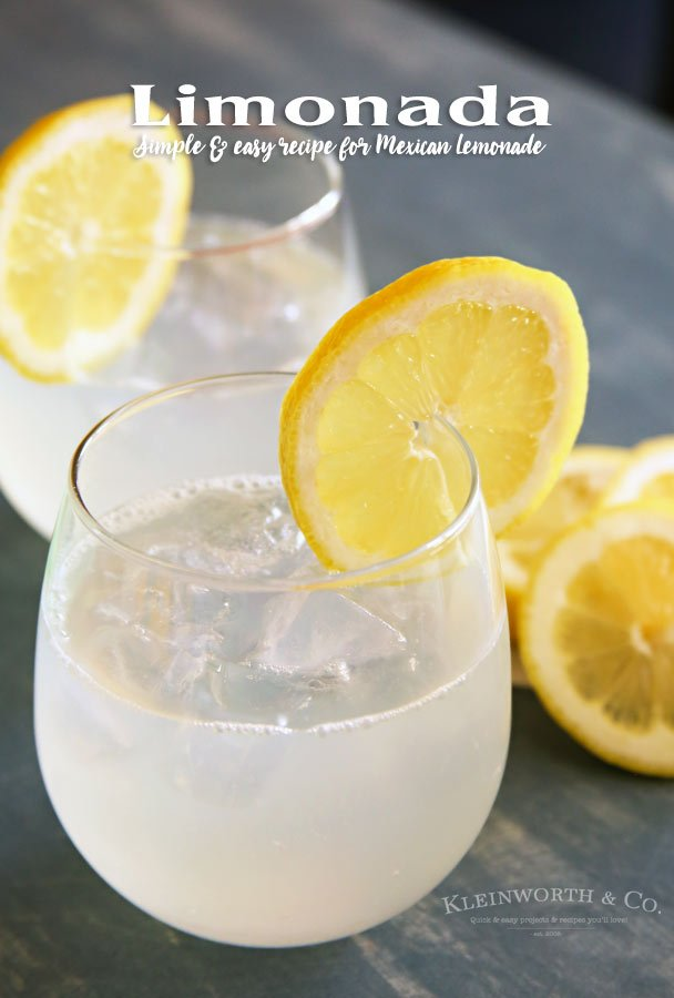 Limonada Mexican Lemonade