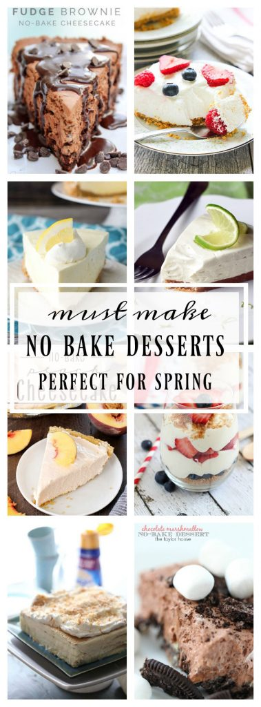 Must Make No-Bake Desserts for Spring