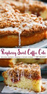 Raspberry Swirl Coffee Cake