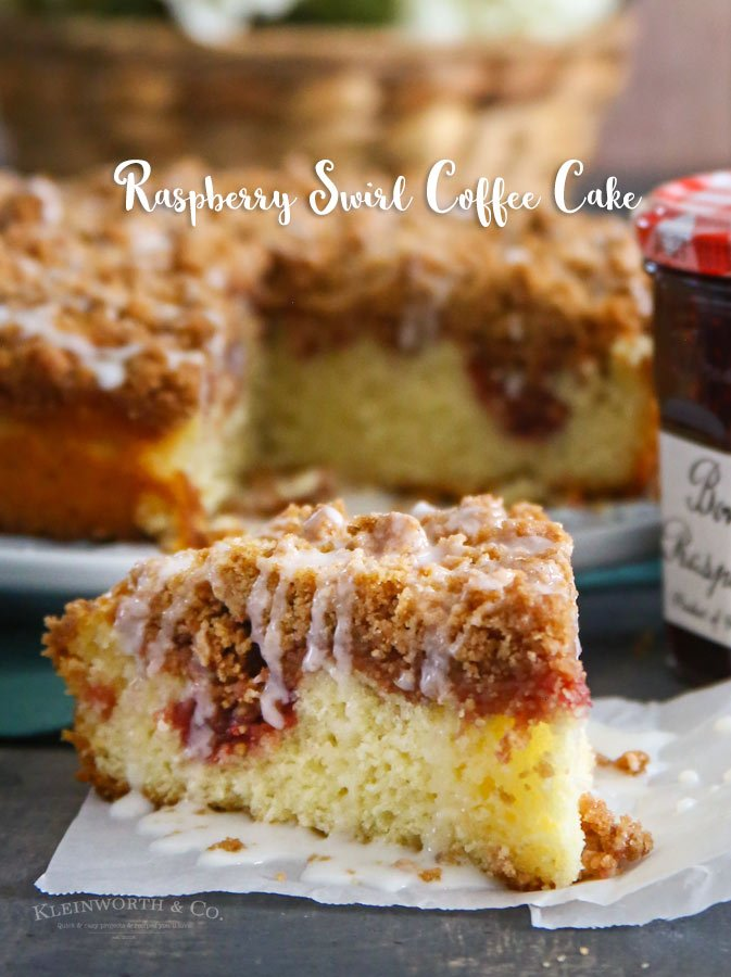 Raspberry Swirl Coffee Cake