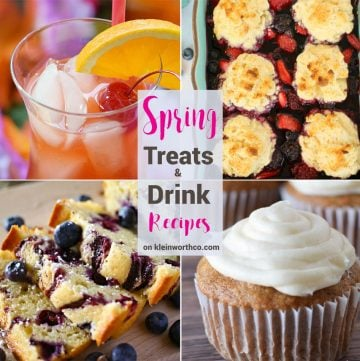Spring Treats & Drink Recipes