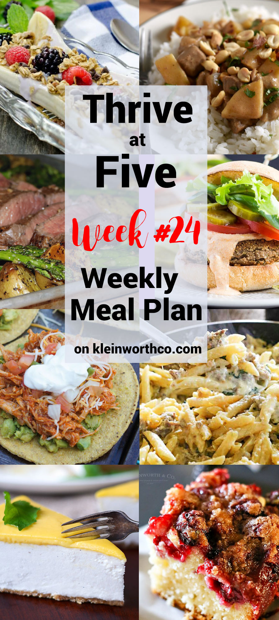 Thrive at Five Meal Plan Week 24