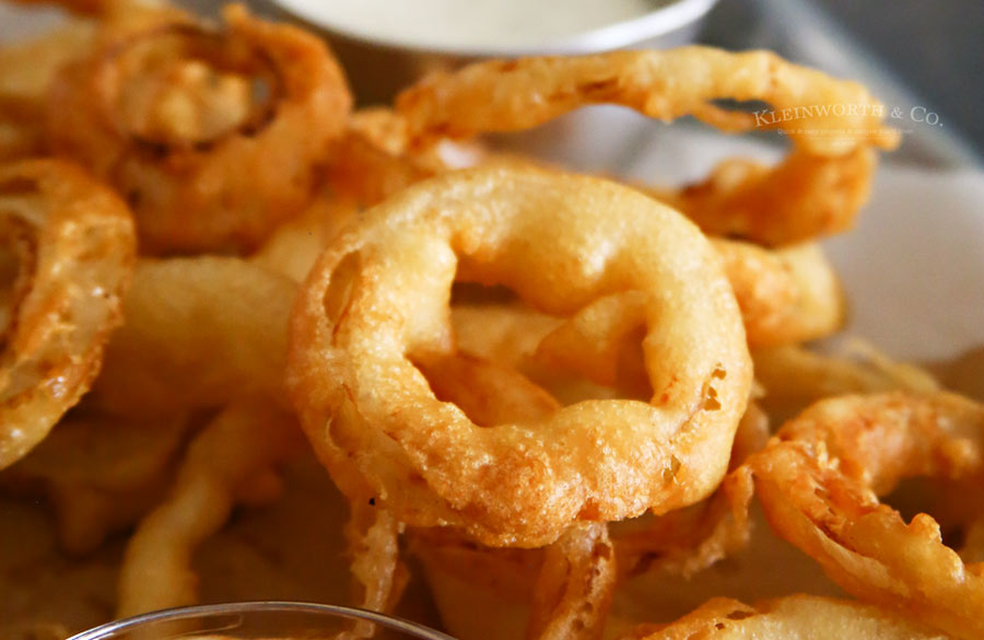 The best Beer Battered Onion Rings