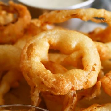 Best Beer Battered Onion Rings