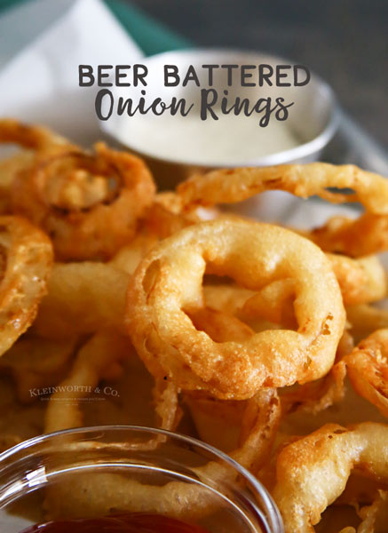 The absolute best Beer Battered Onion Rings