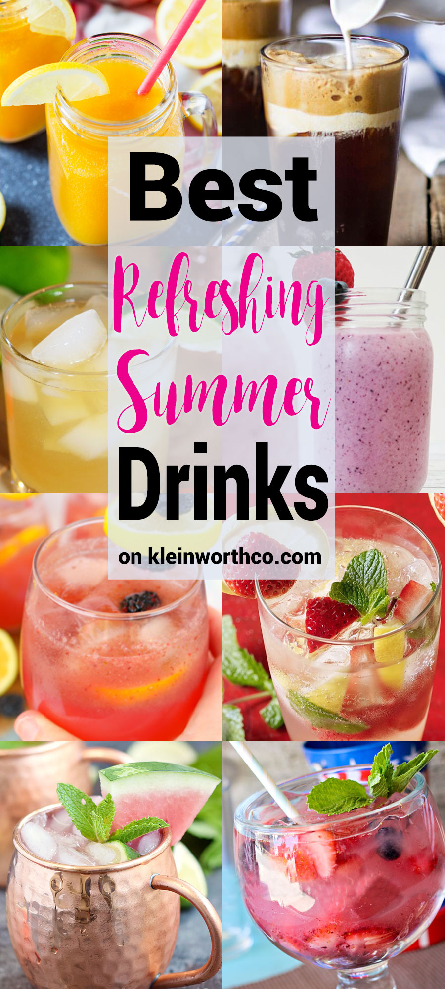 Best Refreshing Summer Drinks