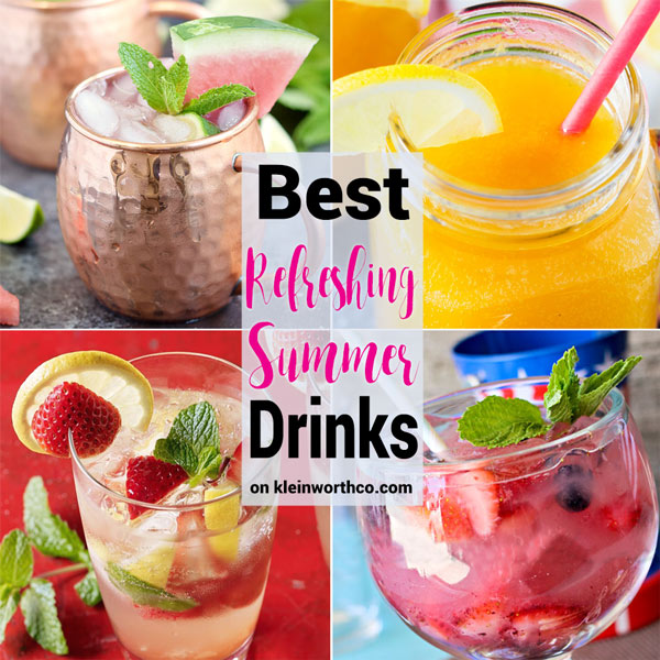 Best Refreshing Summer Drinks