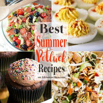 Best Summer Potluck Recipes