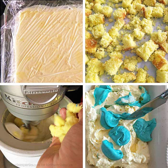 Steps To Make Birthday Cake Ice Cream