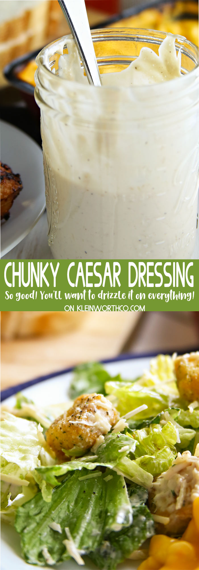 Chunky Caesar Dressing Recipe