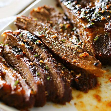 Easy BBQ Beef Brisket