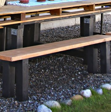 Easy DIY Benches – Outdoor Furniture