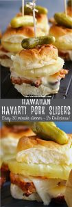 Hawaiian Havarti Pork Sliders
