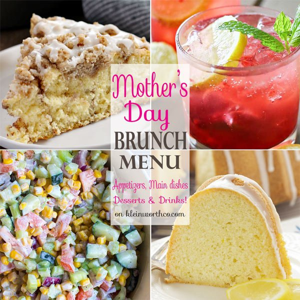 What to serve on Mothers Day