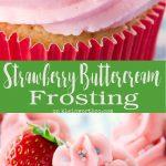 Fresh Strawberry Buttercream Frosting
