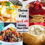 Thrive at Five Meal Plan Week 26