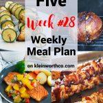 Thrive at Five Meal Plan Week 28