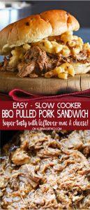 Easy BBQ Pulled Pork Sandwich