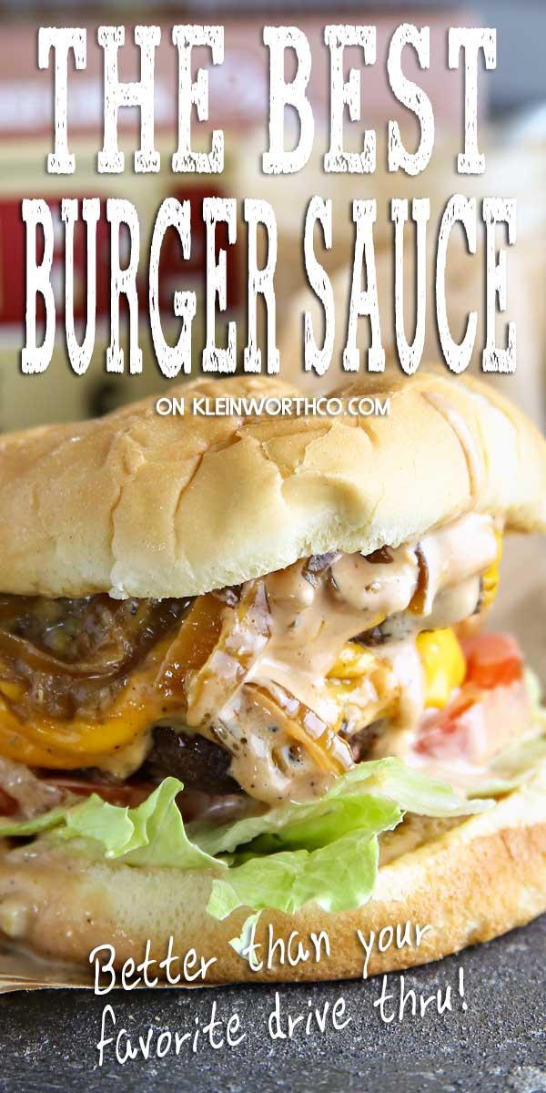 Best Burger Sauce